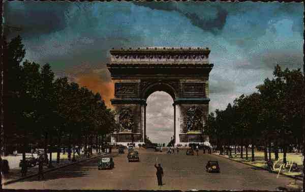 Paris et ses merveilles avenue des chs élysées et arc de